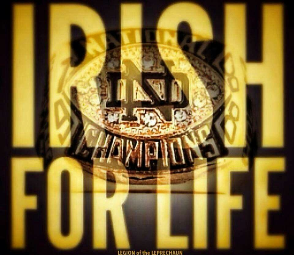 Notre Dame Football With Images Notre Dame Fighting