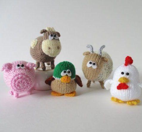 Teeny Toy Knitting Patterns Pinterest Knitting Patterns