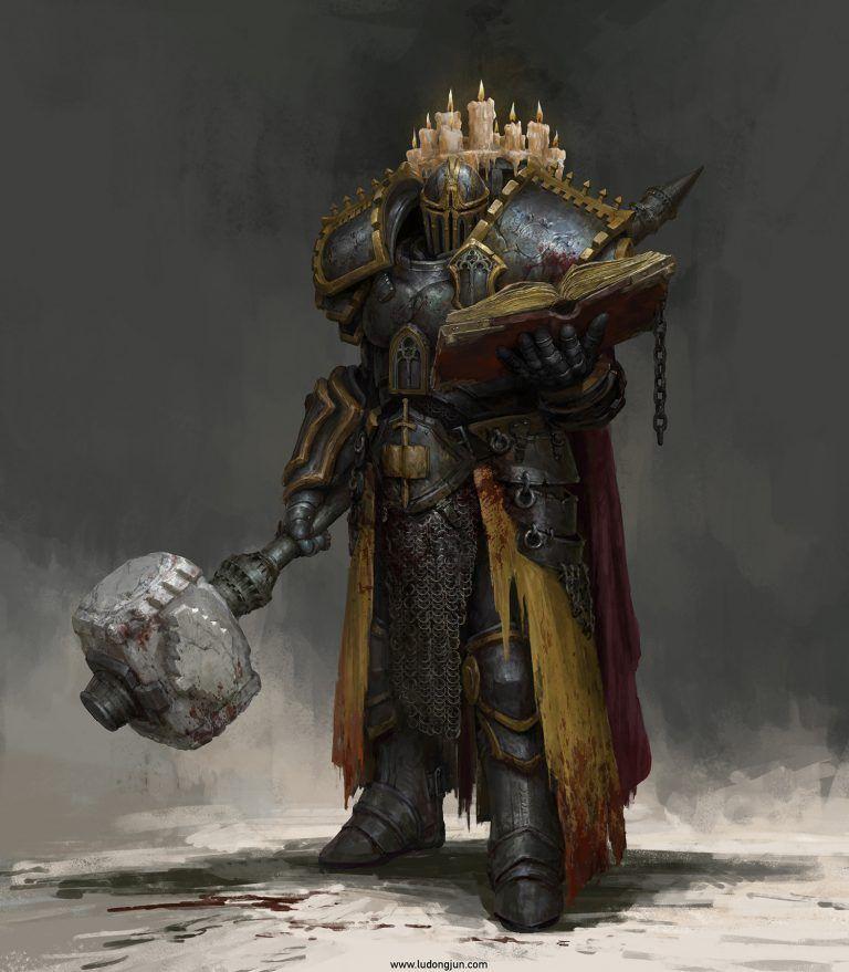 Russell Dongjun Lu | Fantasy | Armadura de fantasía, Diseño de personajes, Inspiración de fantasía