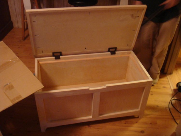 How To Build A Toy Box With A Kreg Jig Great Sketchup