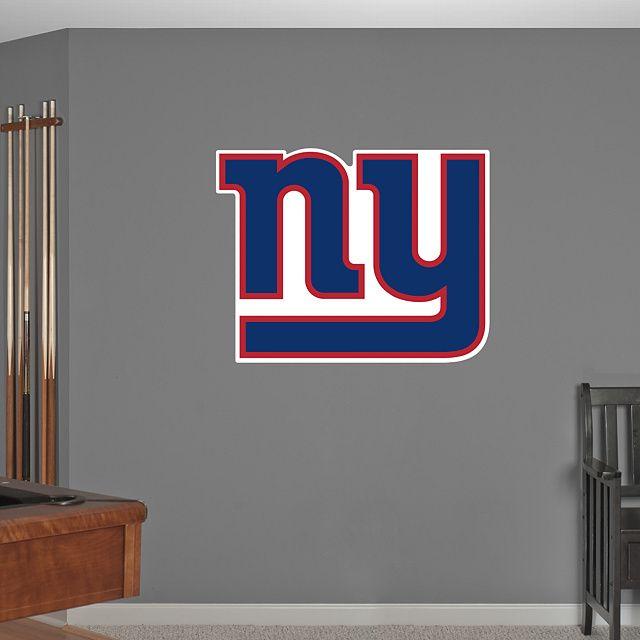 New York Giants Logo Wall Decal Fathead For Decor
