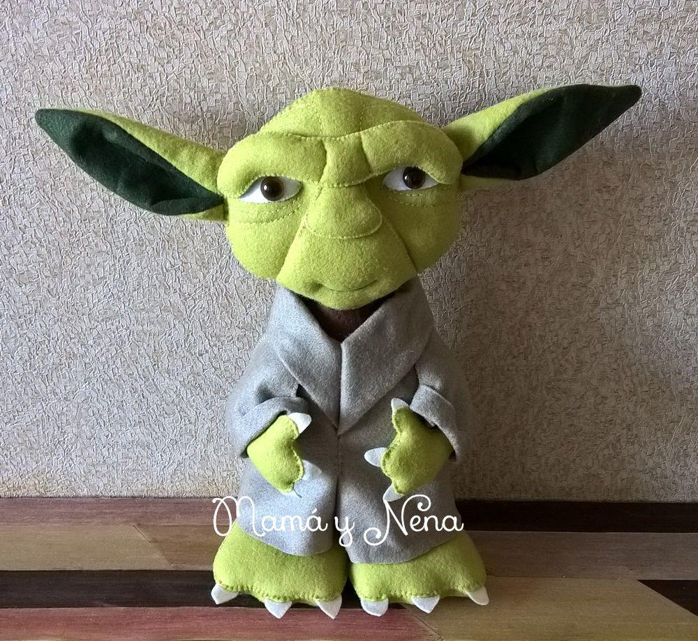 Mestre Yoda Star Wars em Feltro