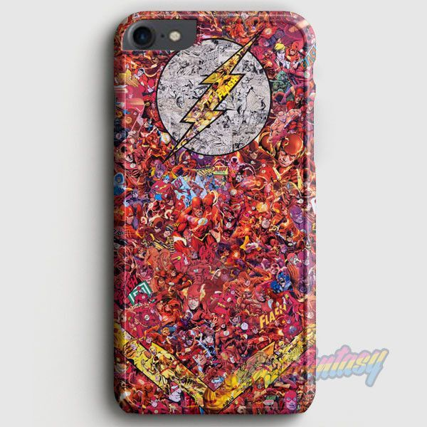 The Flash Logo Comic case provides a protective yet stylish shield between your iPhone 7 and accidental bumps, drops, and scratches. Features slim and lightweight profile, precise cutouts, and provide