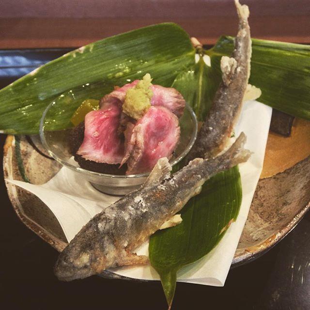 Moriwaki med @carlishizaki  #kaiseki #kyoto by wataru_adachi