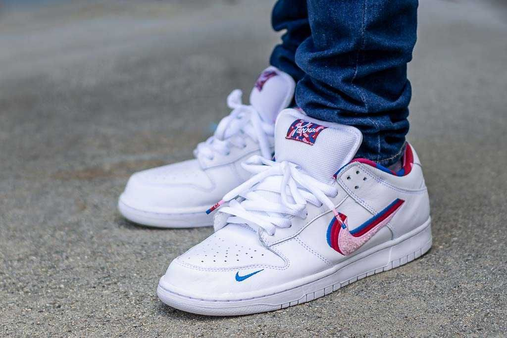 A new Nike SB Dunk Low x Parra is on