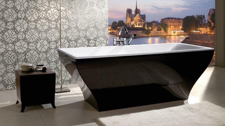black restroom ideas black bathtubs for modern bathroom ideas with freestanding