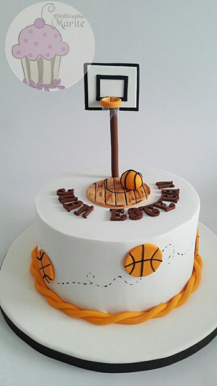Torta de básquet
