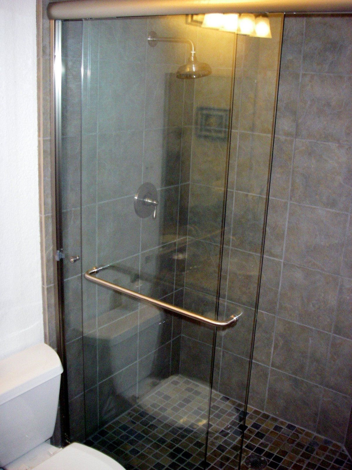Acrylic Shower Door Towel Bar Httpsourceabl Pinterest