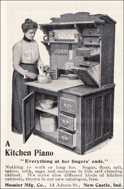1901 Hoosier Kitchen Cabinet Hoosier Cabinet