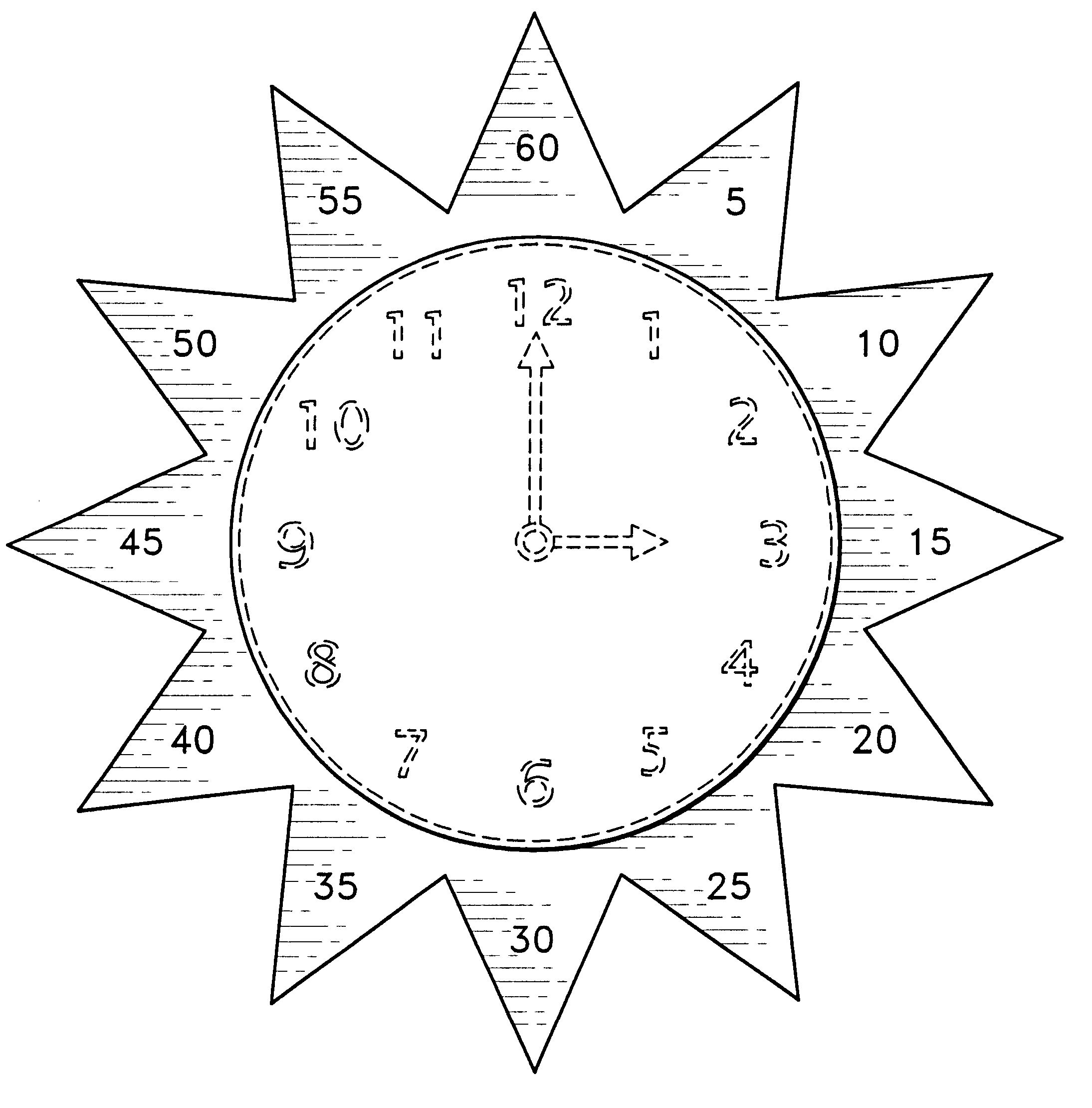 Teaching Aid For Learning To Tell Time Free Goruntuler