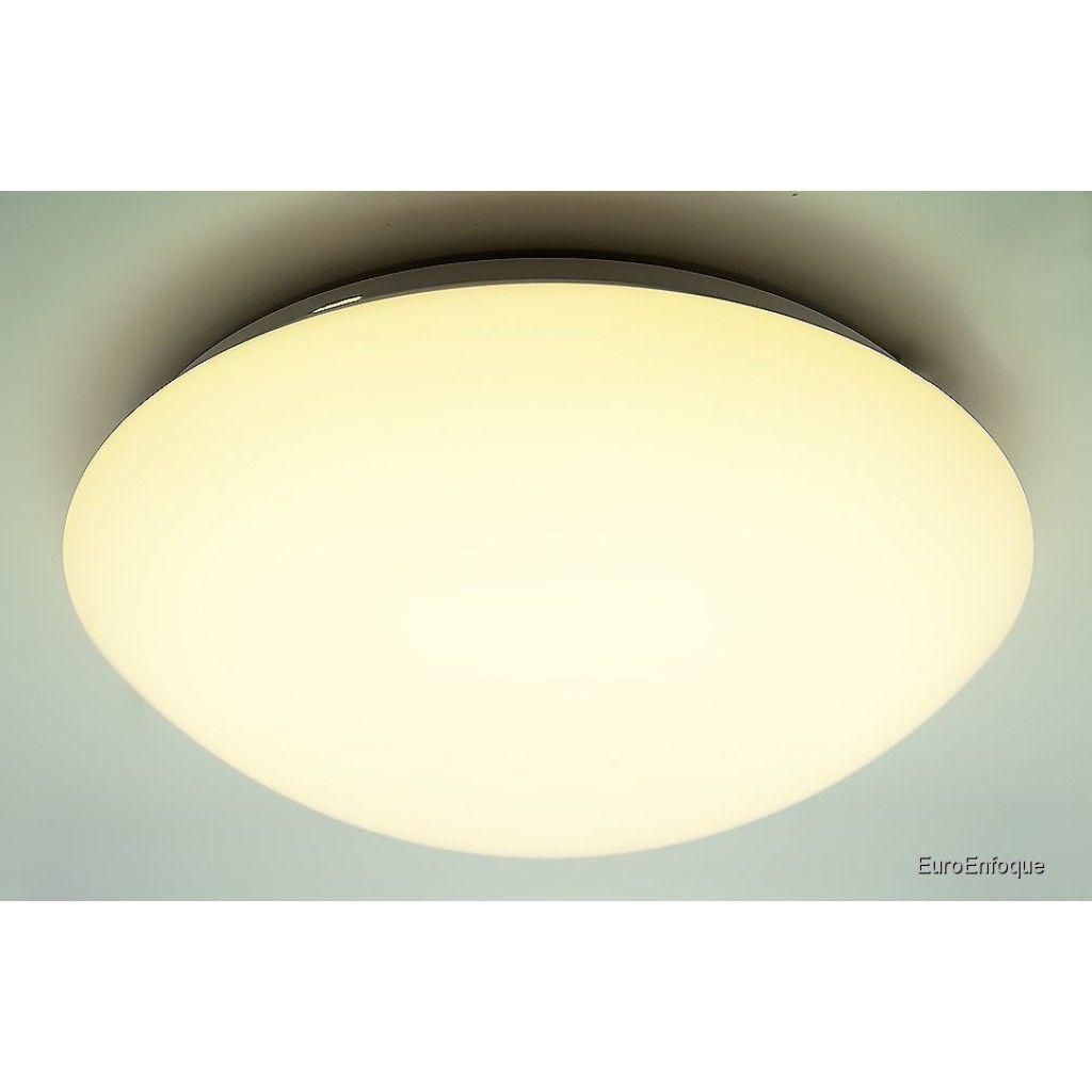 Plafón de Techo LED pequeño Colección ZERO. Diámetro 25 cm. 29 ...