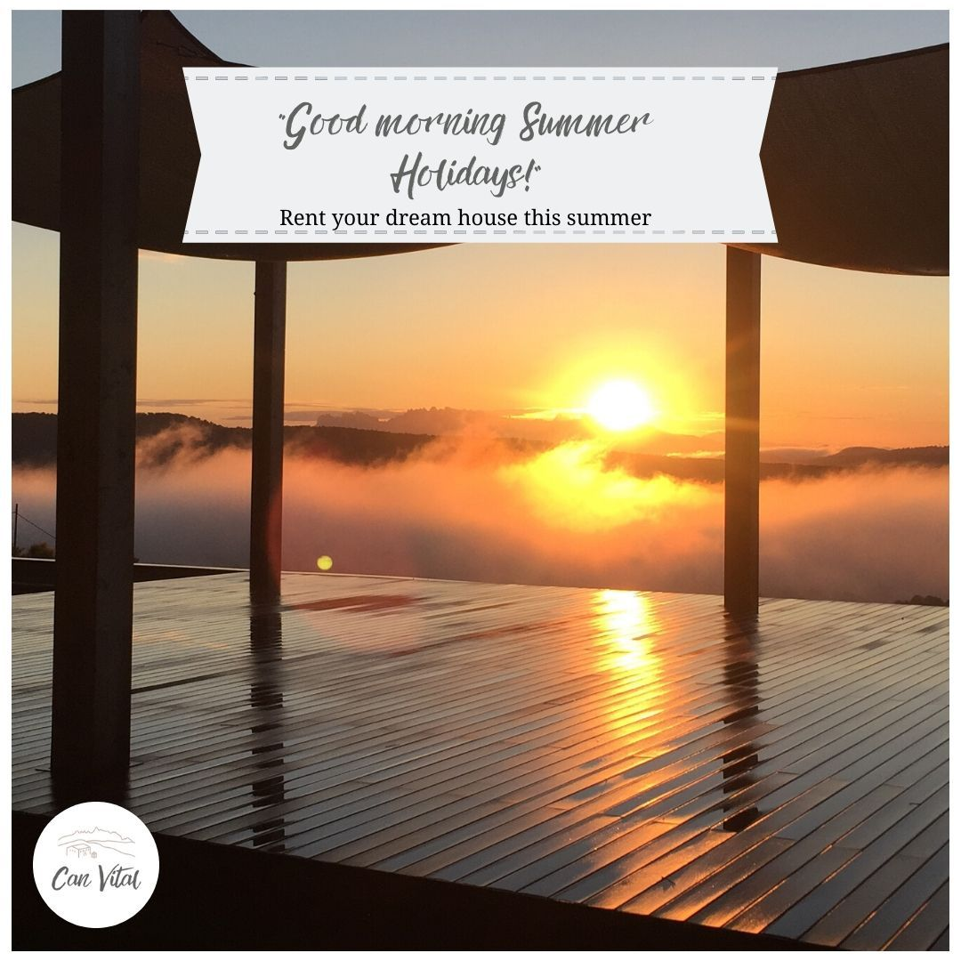 Want to wake up like this every morning? We are giving you the opportunity to rent your dream house this #summer2020    ⬇️Book now ⬇️  www.canvital.life  Near #Sitges & #Barcelona   #bcn #sitges #barcelona #SiaSitges #Sitges #catalunyaexperience #bcnmoltmes #sitgesanytime #Luxury #travel #catalonia #catalunya #luxurylifestyle #instagood #SitgesAnytime #hotel #mediona #SPRibes # summer2020 #summer #love #wanderlust #travelgram # españa #europe #adventure #beach ⠀