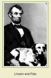 Image result for abe lincoln's cat