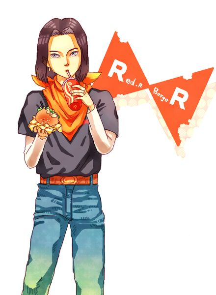 android 17 fan art - Cerca con Google - Visit now for 3D Dragon Ball Z compression shirts now on sale! #dragonball #dbz #dragonballsuper