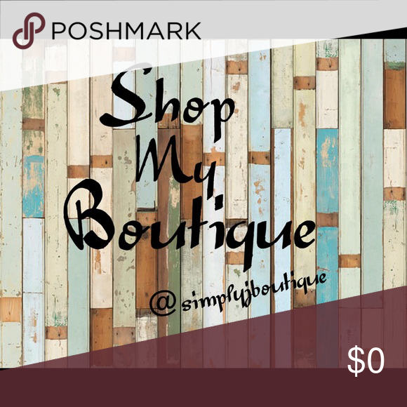 All Boutique Items Shop my boutique! All boutique item prices are firm, no offers please. Bundle and get 10% off! If you have any questions, I'll be happy to answer them. Thank you! Happy Poshing! Other