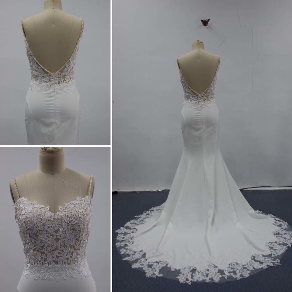 Natalie weddingdress from blushingbridedesigns lovely champagne