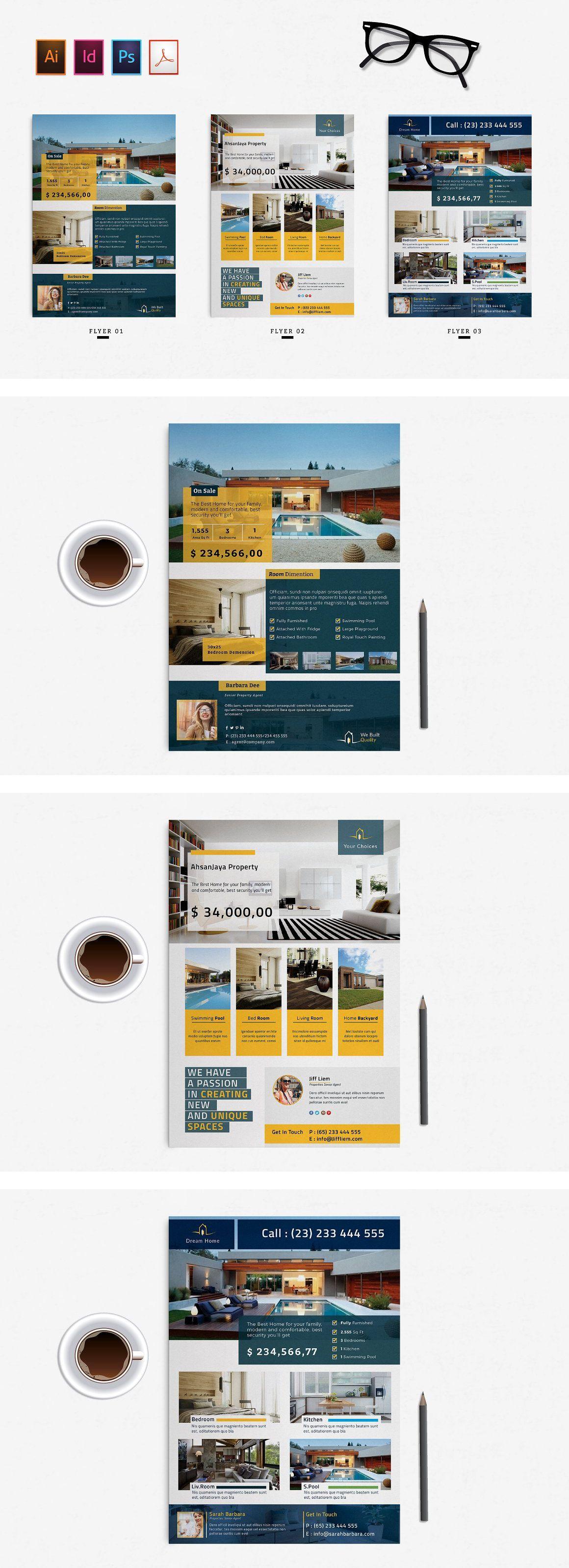 real estate flyer vol 01