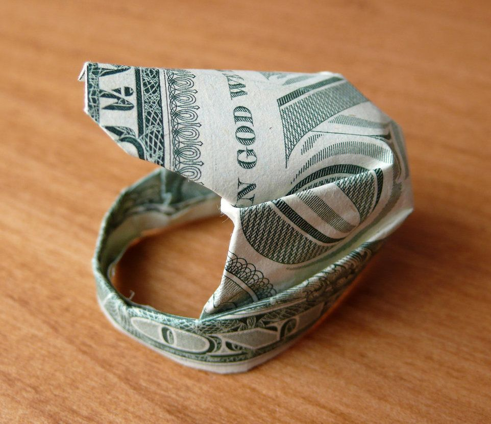 Origami Money Dollar Bill Ring - Best Step by Step Instructions | 831x962