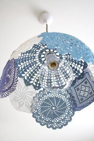 Novos usos para a toalhinha de crochê, dicas de decoração.