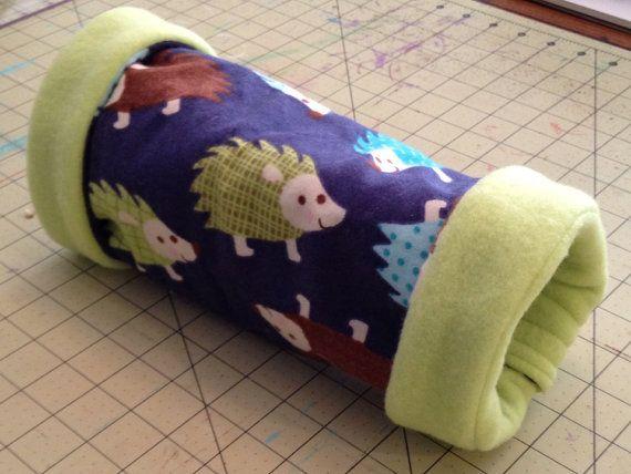 Small pet cuddle tunnel by FireflysFarm on Etsy Pets