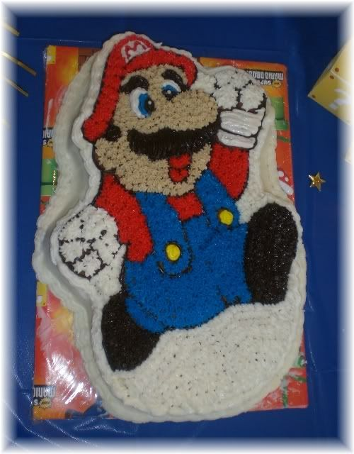 Party Time Super Mario Bros Character Cakes Party