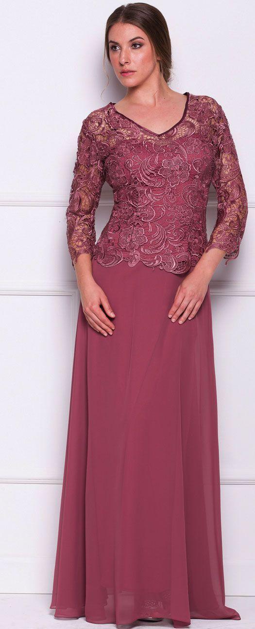 Resultado de imagen para vestidos de fiesta para señoras mayores de ...