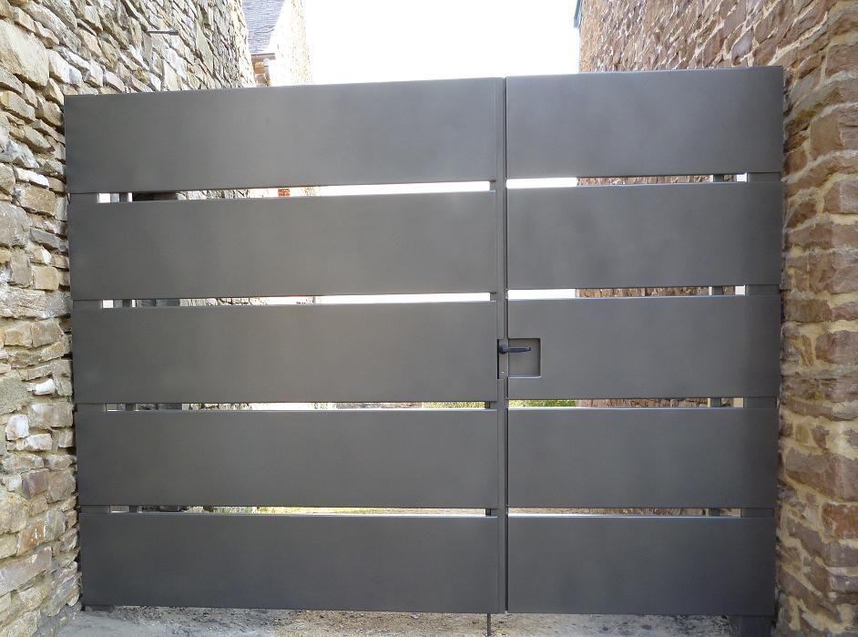 Portail vdv m 142 portail et entree de maison for Portillon entree maison