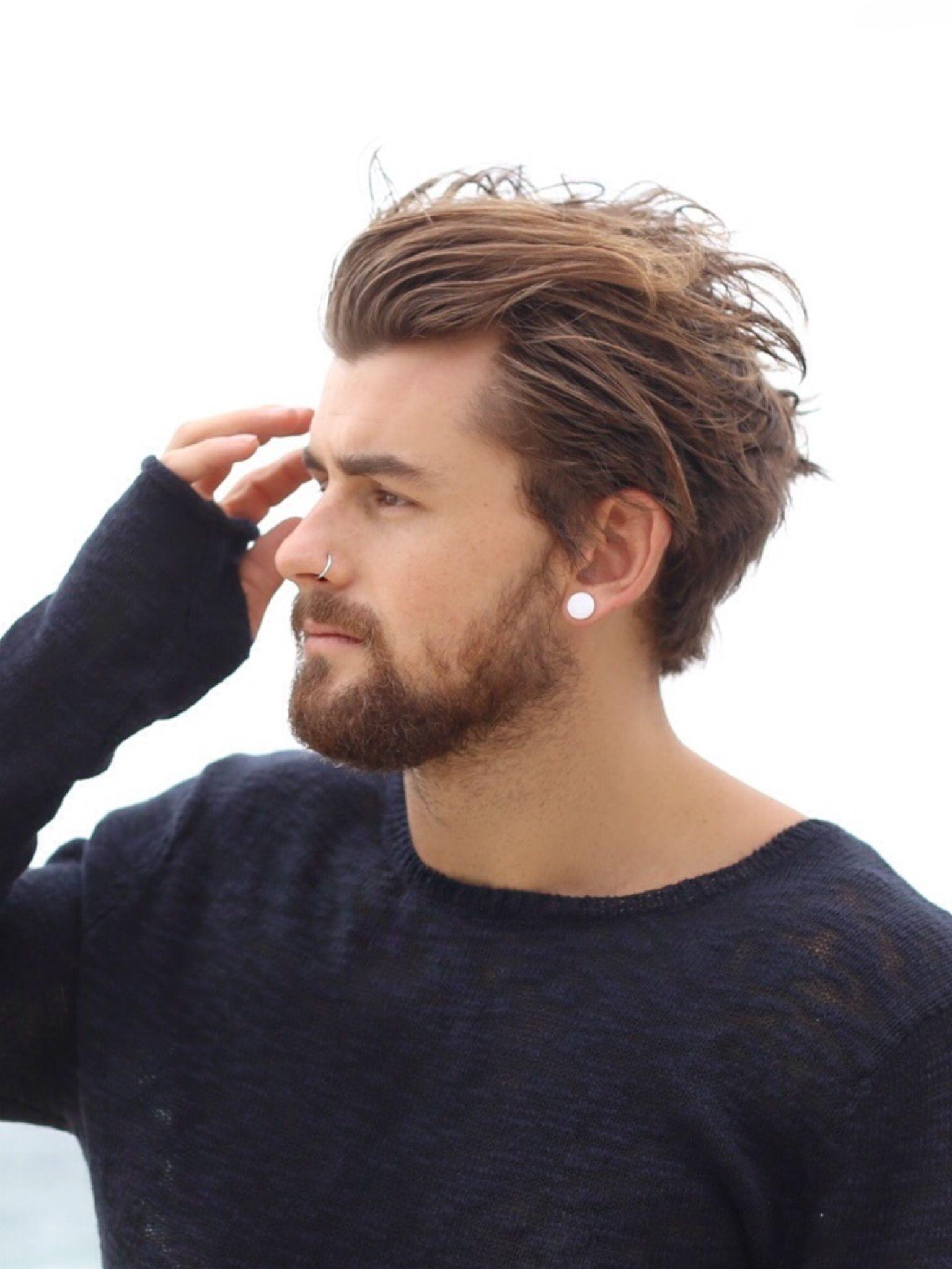 Pin by hardmec on piercing boys pinterest hair styles hair and