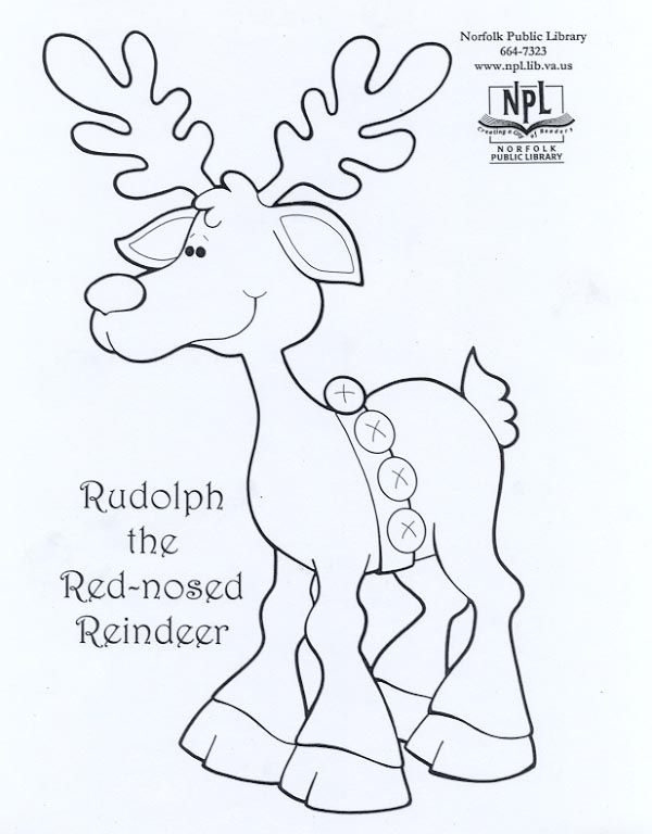 Rudolph The Red Nose Reindeer My Printables Pinterest