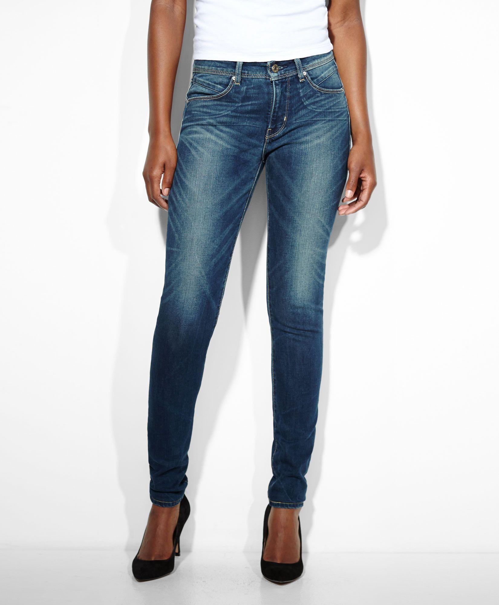 Levi's Revel Slight Curve Skinny Jeans - High Low - Slight Curve