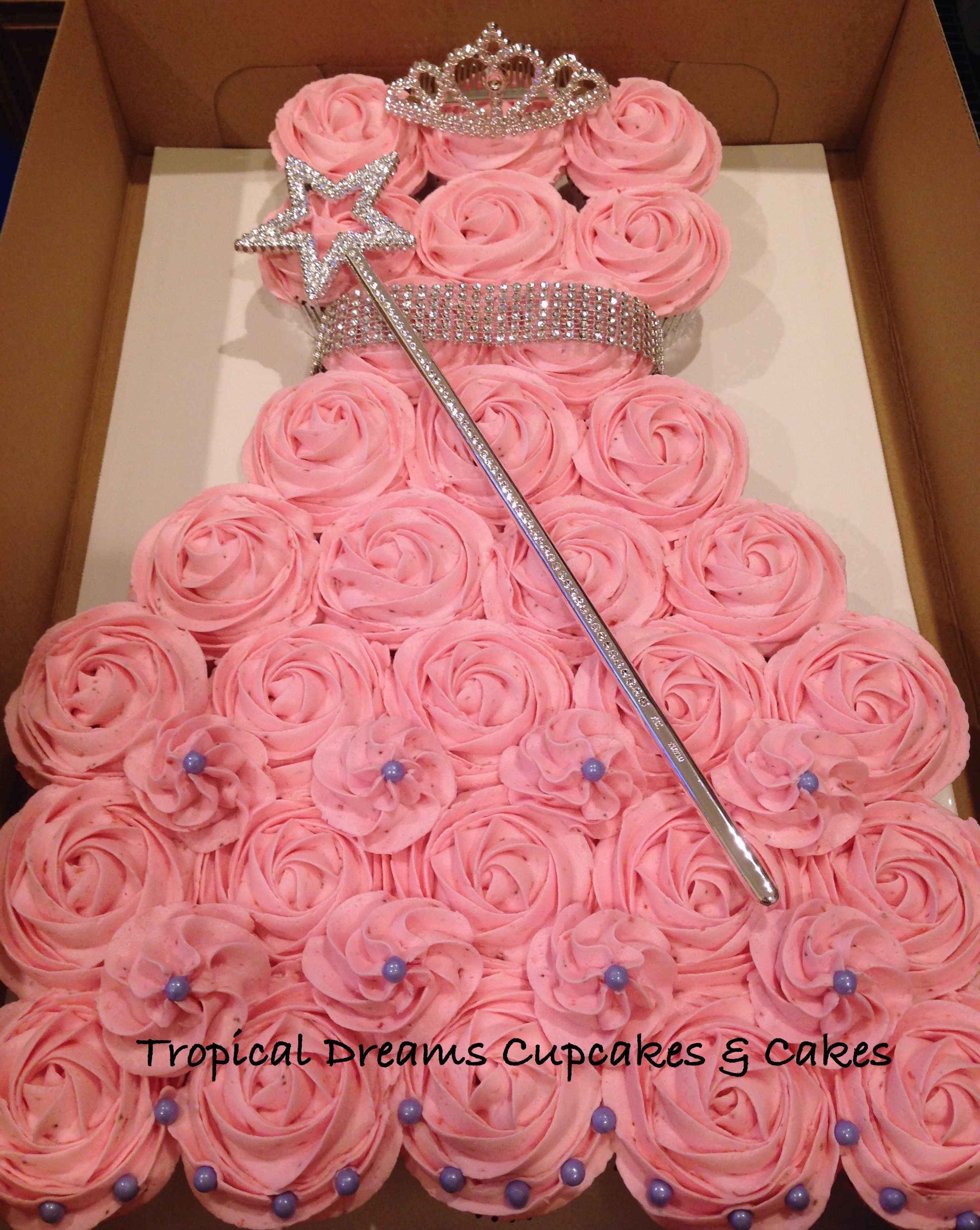 Princess Pull Apart Cake For Jade Cakes For Special Kids