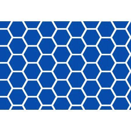 sheetworld fitted pack n play graco sheet royal blue honeycomb