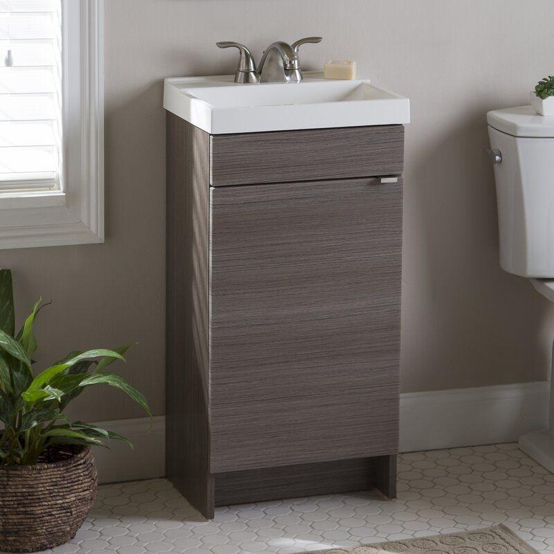 Fraizer Teak 17 Single Bathroom Vanity Set With Images Single