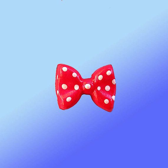 Bow Mold minnie Flexible Silicone   by CrazyLadiesCreations, $3.95