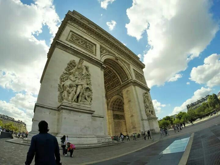 Arc de Triumph, Paris, France