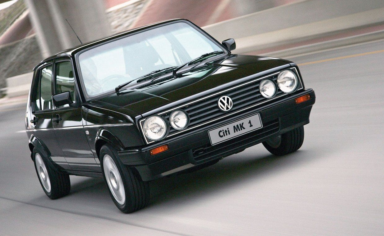 Volkswagen Citigolf Production Of The Mki Golf Continued In