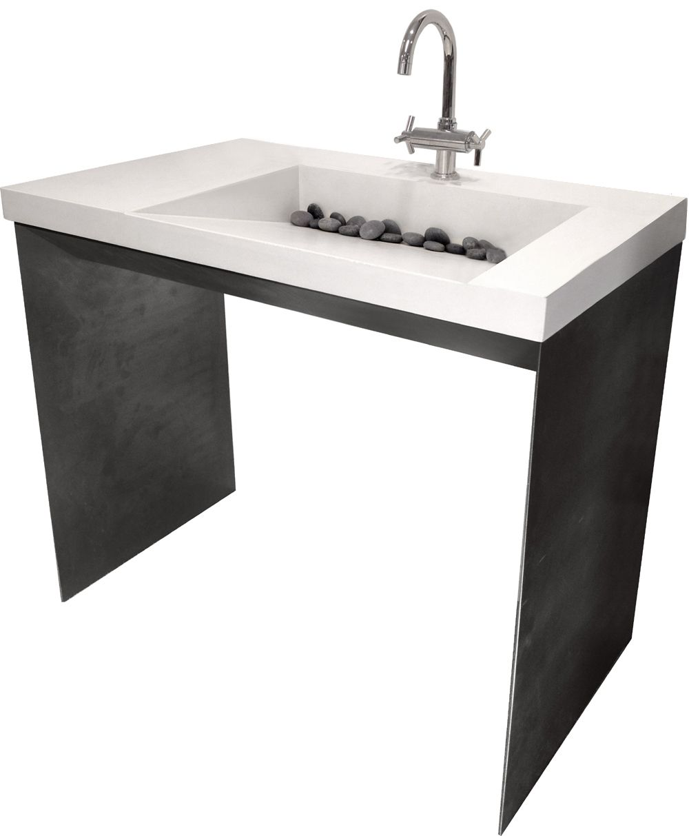This Is The Contempo Sink With Features A Concrete Sink And