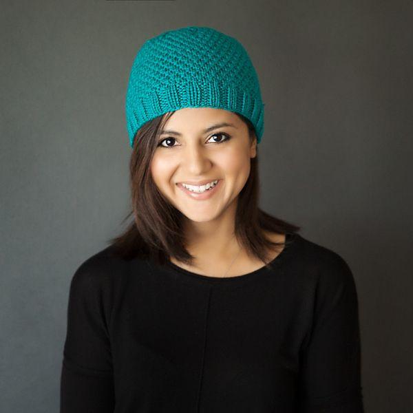 Modern Knit Beanie Free Pattern   Carolyn   Pinterest   Patrones ...