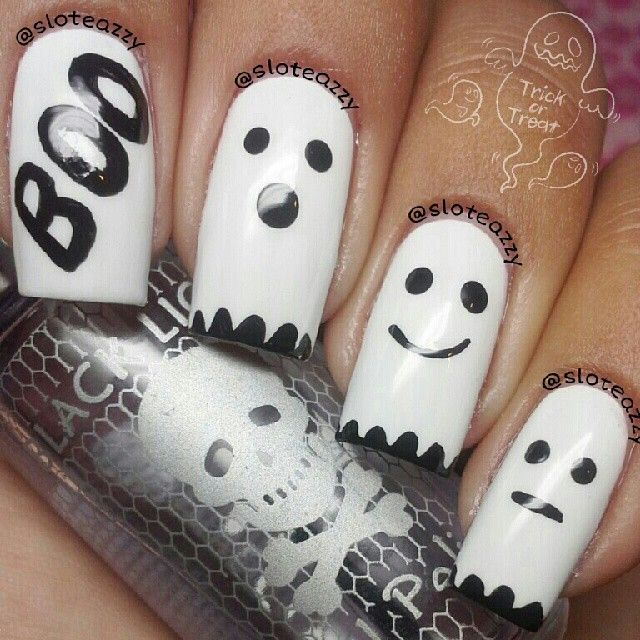 halloween by sloteazzy  #nail #nails #nailart