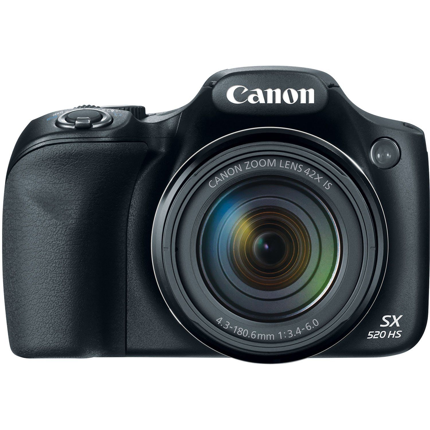 Canon Powershot Sx520 16digital Camera With 42x Optical Image Stabilized Zoom With 3 Inch Lcd Black Canon Powershot Canon Digital Camera Hd Digital Camera