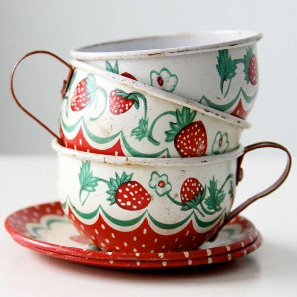 Vintage Tassen bringen Gemütlichkeit mit sich!Wohnideen – Dekoration ...