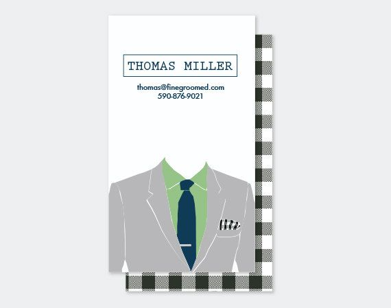 Modern And Clean Tailored Suit Business Card Template Business Card Photoshop Business Card Template Business Cards
