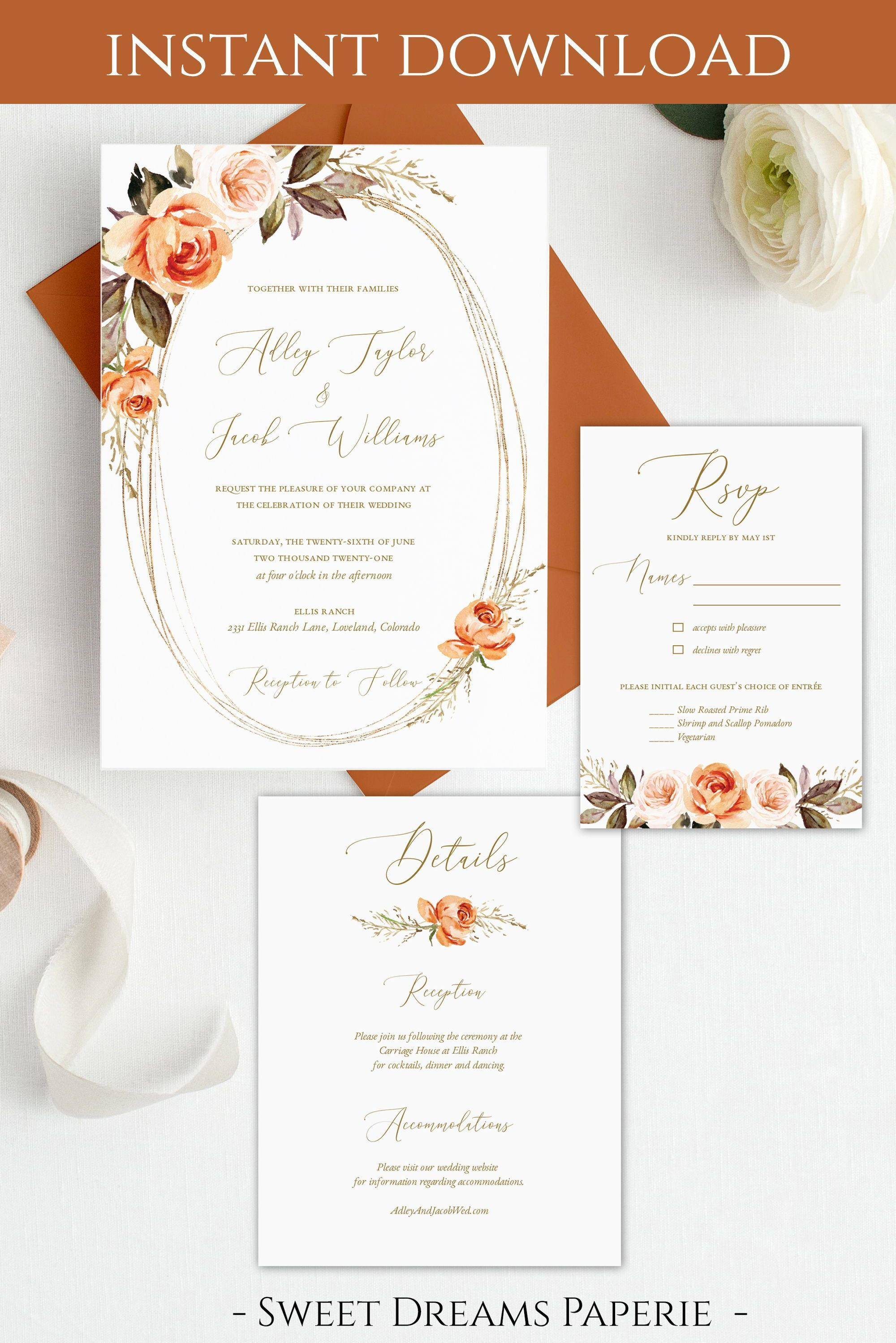 Pin On Diy Wedding Invitations And Stationery