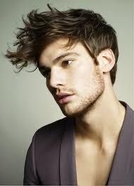 fluffy  cool hairstyles for men edgy hair mens