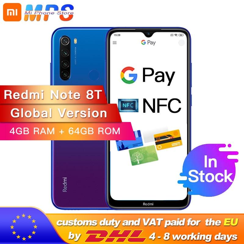 Global Version Xiaomi Redmi Note 8T 4GB 64GB NFC Snapdragon Deals - PhoneSep.com