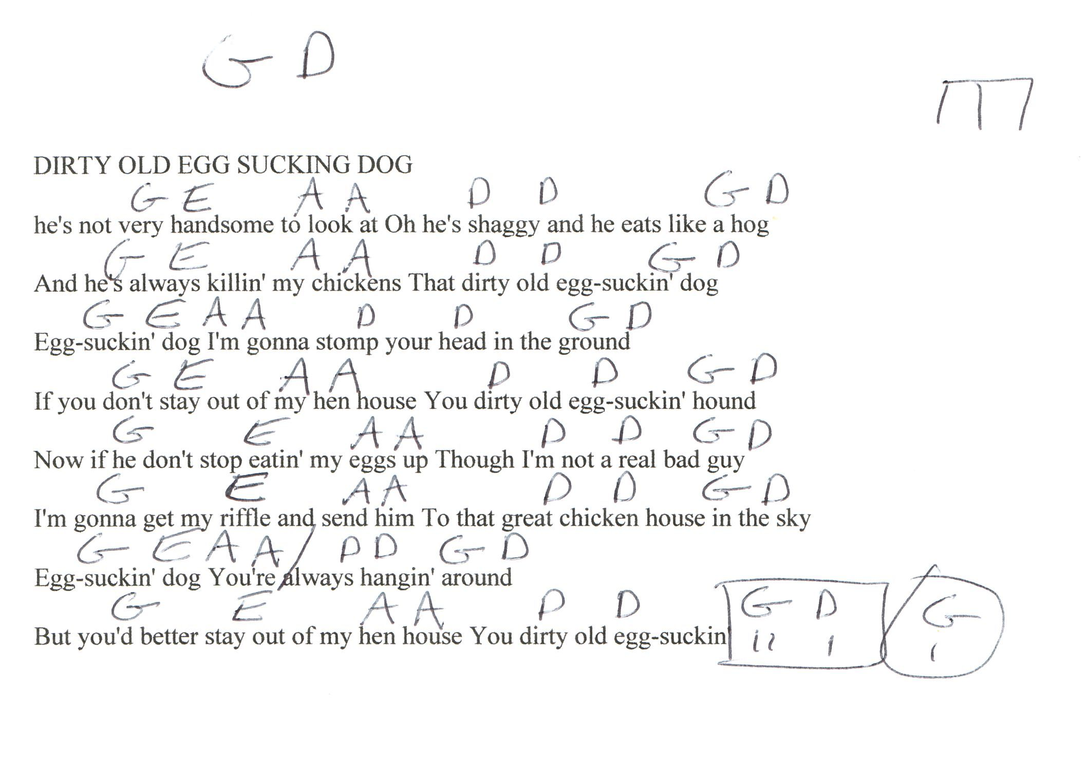 Guitar chords to chicken fried image collections guitar chords egg sucking dog johnny cash guitar chord chart guitar lesson egg sucking dog johnny cash guitar hexwebz Choice Image