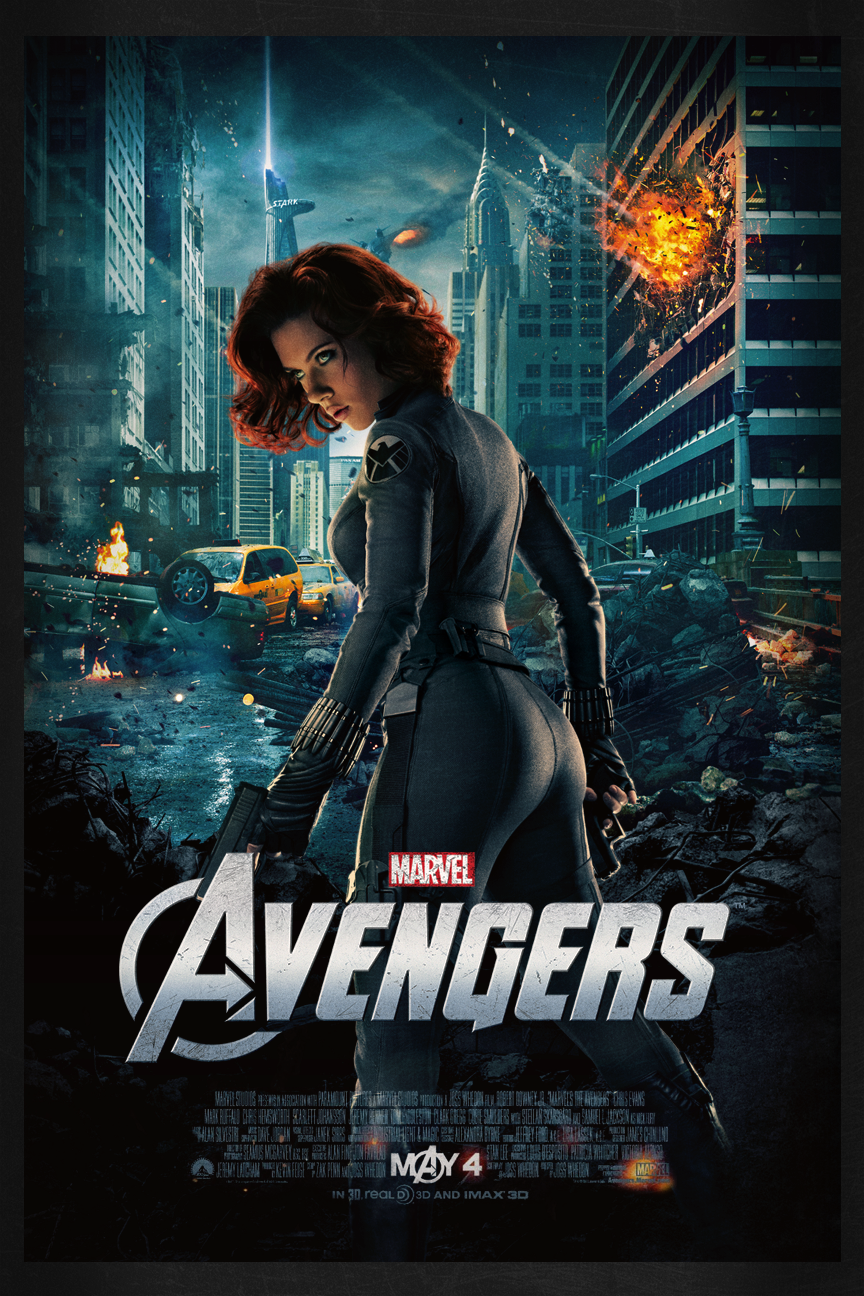 Black Widow Avengers Poster Image Gallery - HCPR