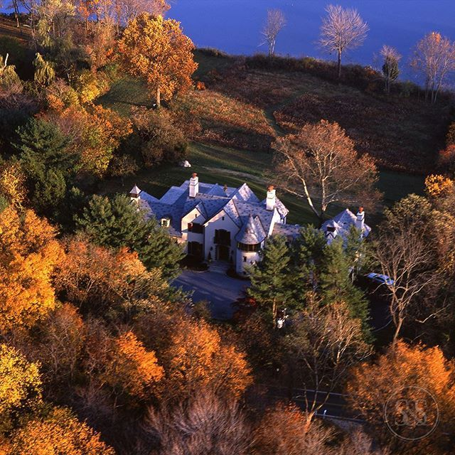 Making a case that waterfront homes are best in #Autumn Designed by