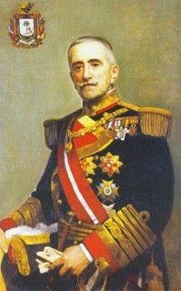 38º Capitán General de la Armada Española. Juan Bautista Aznar y Cabanas 1928