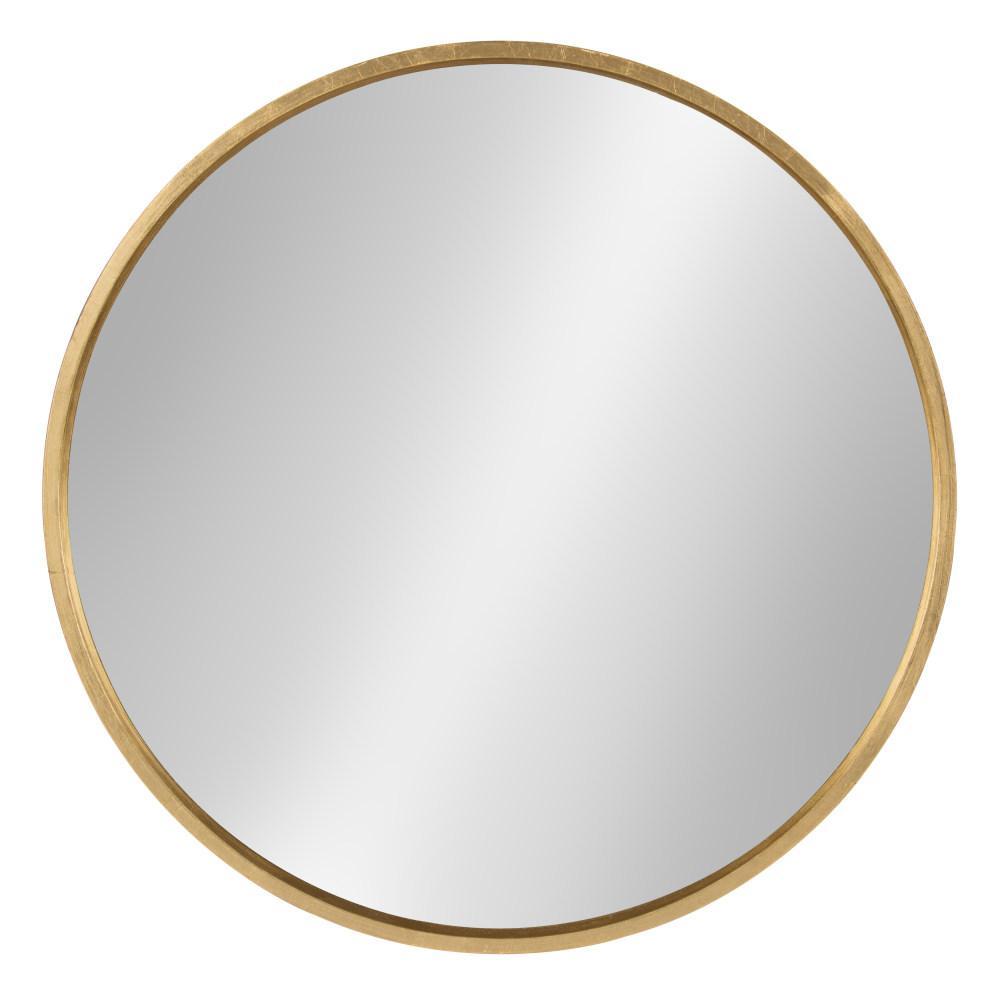 Kate And Laurel Travis Round Gold Mirror 211754 Round Gold Mirror Gold Mirror Wall Mirror Wall